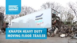 Heavy-Duty Knapen moving floor trailer