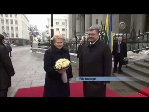 Lithuanian President to Get Top Ukrainian Honour: Grybauskaite to receive Person of the Year Award