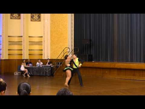 2015 Australian Bachata Championship - Professional Couple - Andrew and Lisa