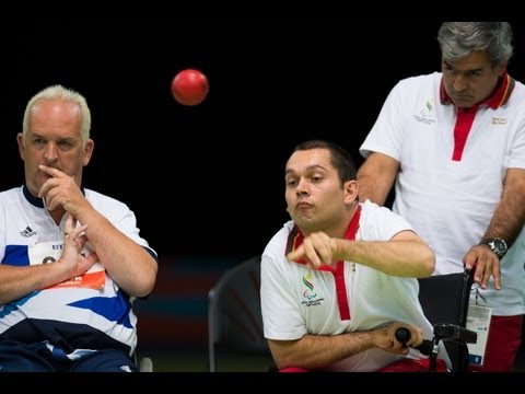 Boccia highlights from London 2012 Paralympic Games