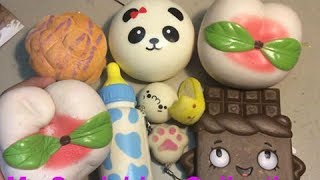 BỘ SƯU TẬP SQUISHY  |DIY SQUISHY COLLECTION