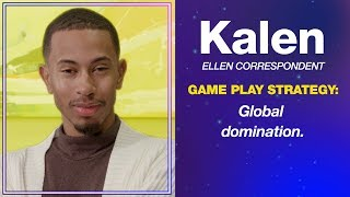 Kalen Hosts Game Night and Plays Ellen's New Game,