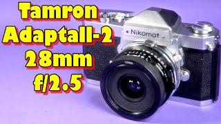 Lens Porn: Tamron Adaptall 2 28mm f/2.5 (02B)
