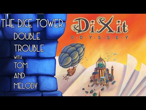 Dixit Oddysey Review -  with Tom and Melody Vasel