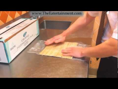 how to make sushi without bamboo mat