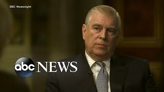Fierce fallout after Prince Andrew breaks his silence on Jeffrey Epstein l ABC News