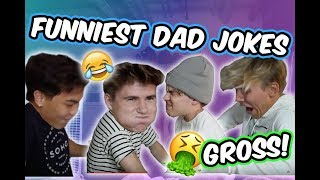 FUNNIEST DAD JOKES!! (Try Not to Laugh Challenge!!)