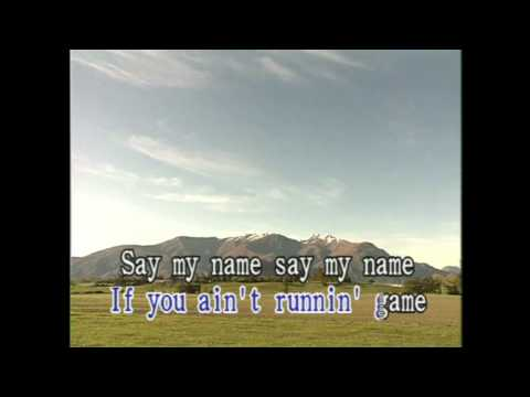 Say My Name (Karaoke)