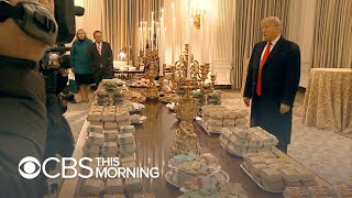 Trump serves fast food by candlelight at White House amid shutdown