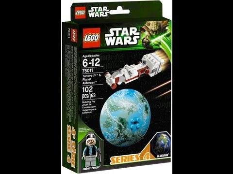Lego Star Wars Alderaan Lego Star Wars Planet Series 4
