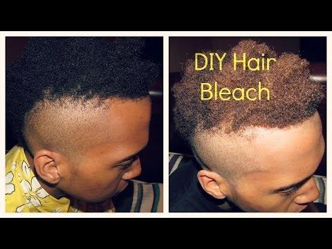 DIY HAIR BLEACH (4-5 shades lighter)
