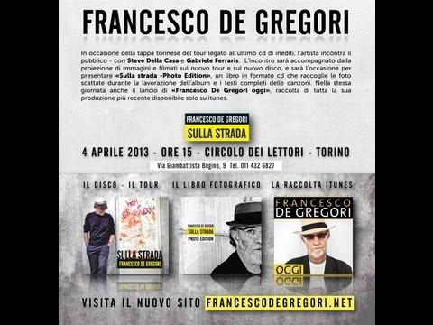 Francesco De Gregori in diretta dal Circolo dei Lettori di Torino