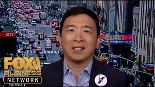 Andrew Yang holds 'Humanity First' rally in New York City