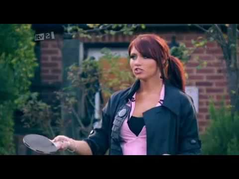 Amy Childs - Playing Ping Pong