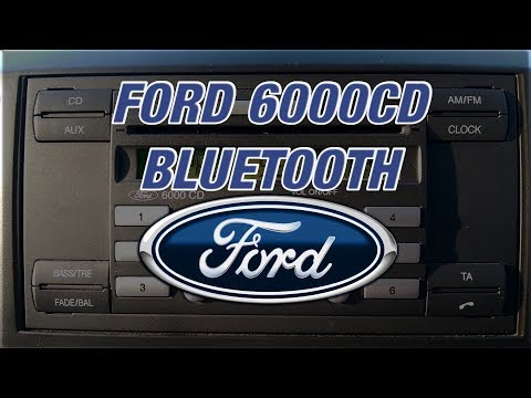 Ford 6000CD Bluetooth - Deleting and Adding Phones