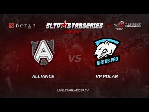Alliance vs VPPolar  SLTV Europe Season 11 Day 22 Game 1
