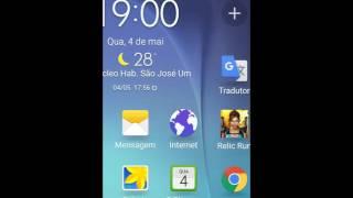 Como limpar o celular para parar de travar/celular J5