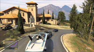 Grand Theft Auto 5 - Car - Boat Trailer Gameplay [HD]