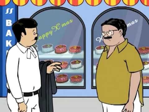 Bobanum Moliyum Comedy - Christmas Cake