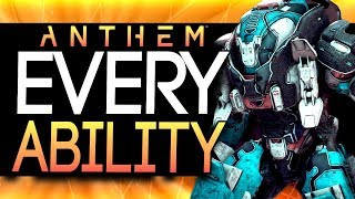 Anthem | NEW GAMEPLAY - ALL Javellin Class Abilities, Gear Slots and Ultimates!