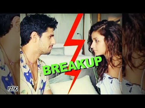 BREAKUP! Sidharth responds to rumors with Alia