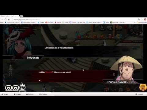 First Look Bleach Online Gameplay video
