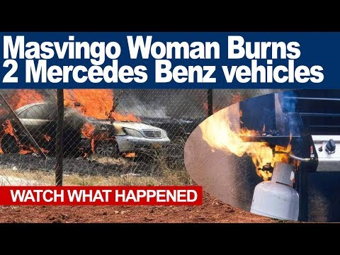 Masvingo Woman Burns two Mercedes Benz vehicles to Ashes