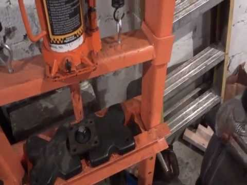 Tool REVIEW on a Harbor Freight 12 Ton Shop Press