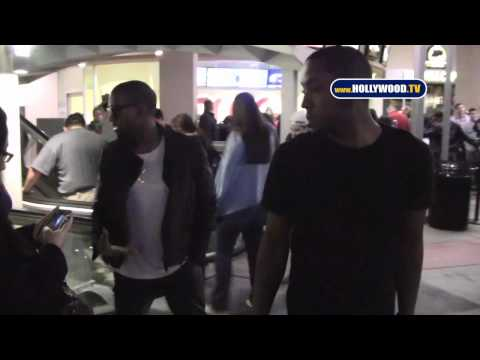 EXCLUSIVE: Kanye West Pleases Fans at AMC Burbank Theater