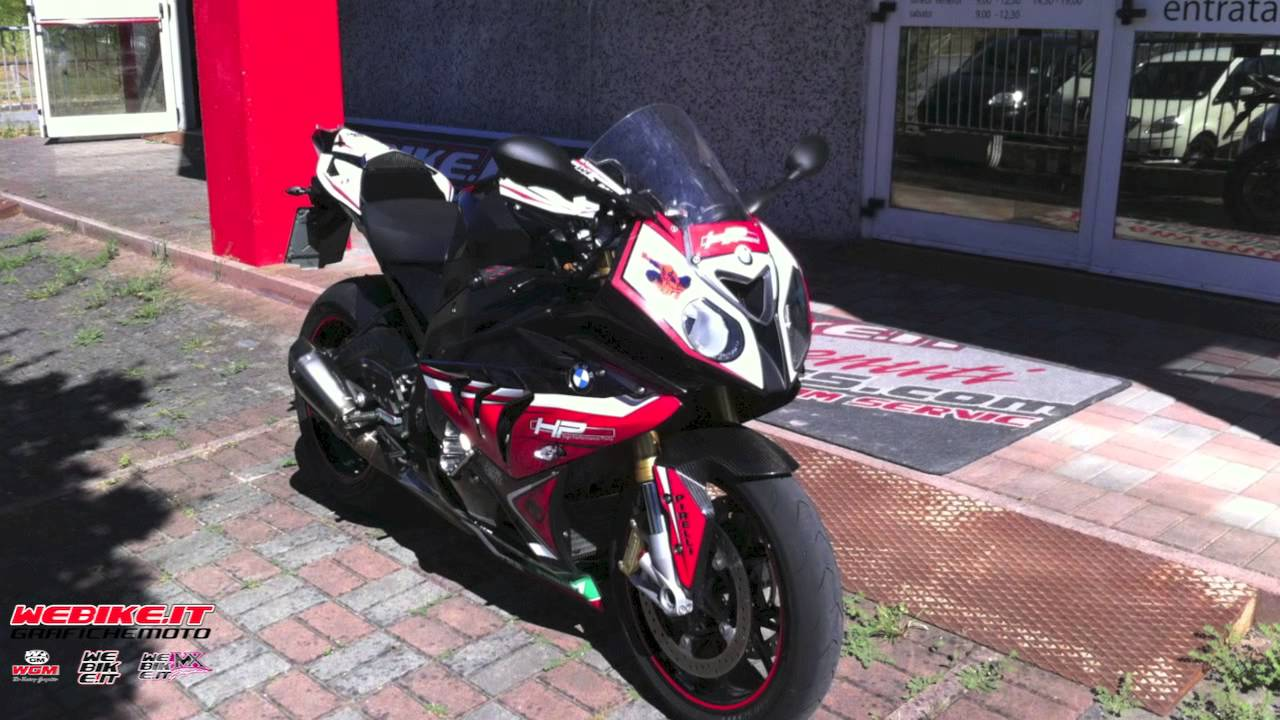 Total Stickers 2013 BMW s1000RR - YouTube