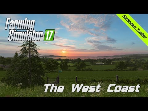 Farming Simulator 17 - The West Coast - Official HD Release Trailer - BulletBill - Frontier Design