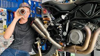 How To Install An Aftermarket Motorcycle Exhaust | MC Garage