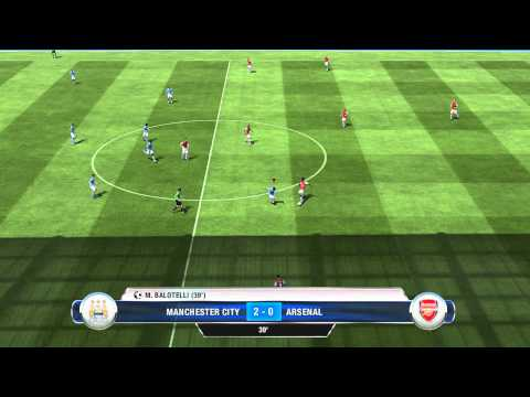 FIFA 13 - DEMO - Manchester City vs Arsenal