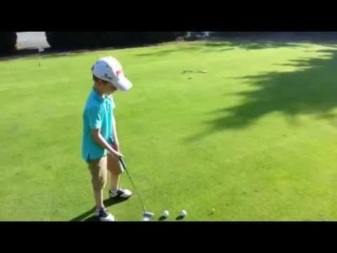 Talented youngster billed as next Tiger Woods aged seven - despite allergy to Sun