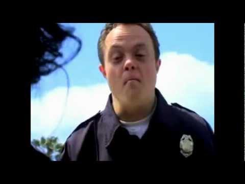 Retarded policeman, BOOBIES