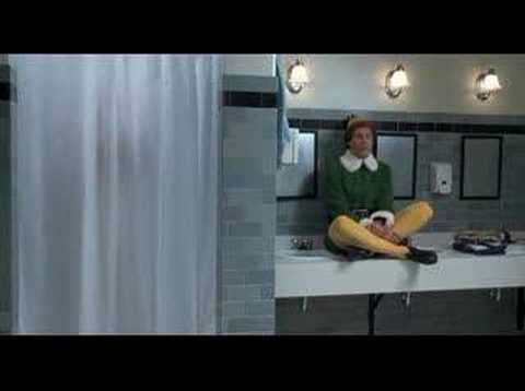 Lip Sync- Baby its Cold Outside- Elf Scene - YouTube