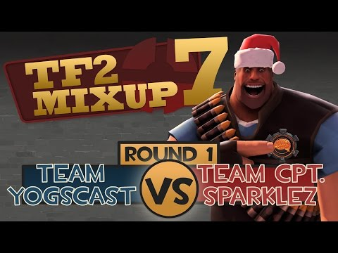 Yogscast Vs Captainsparklez - Tf2 Charity Mixup Match Round 1 video
