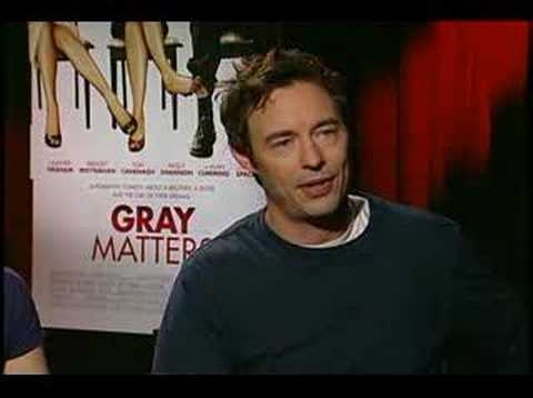 Gray Matters Heather Graham and Tom Cavanagh interview Video