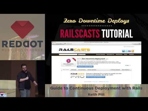 RedDotRuby 2014 Guide to Continuous Deployment with Rails by Keith Pitt