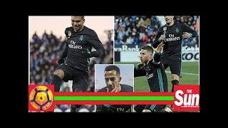 Leganes 1 Real Madrid 3: Lucas Vazquez, Casemiro and Sergio Ramos penalty complete comeback for Los