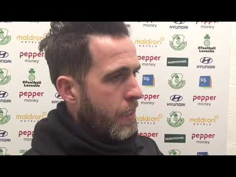 Rovers 1-1 Limerick post match with the gaffer