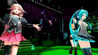 [MMD] Tell Your World [Miku Rin IA]