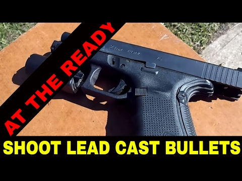 SHOOT HARD CAST LEAD THROUGH YOUR GLOCK