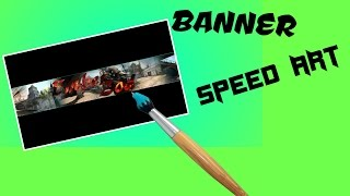 Speed Art Banner