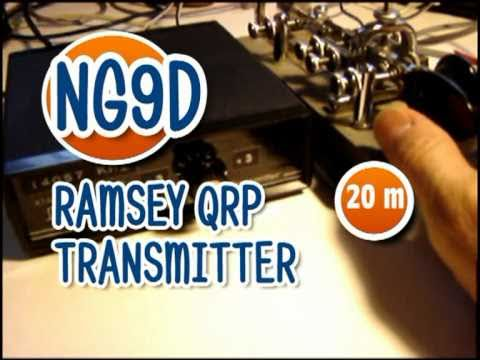 RAMSEY QRP  TRANSMITTER demo