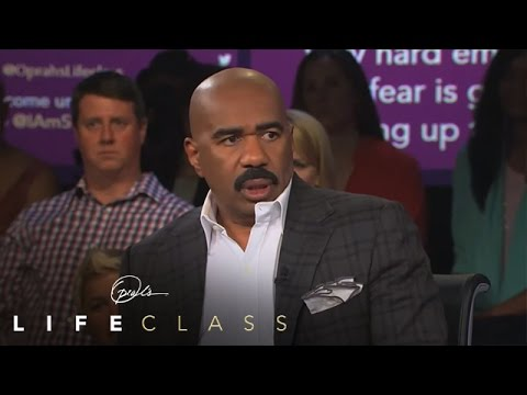 The Lesson Steve Harvey Taught His Sons About Accountability - Oprah's Lifeclass - OWN