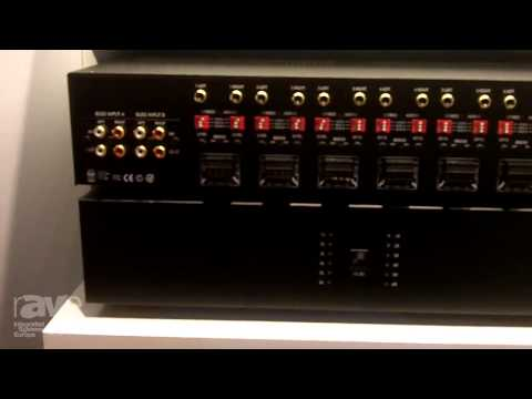 ISE 2015: Sonance Explains Their DSP Line of Digital Amplifiers