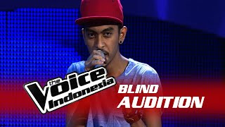 "Prince Husein ""Sing""  The Blind Audition  The Voice Indonesia 2016"