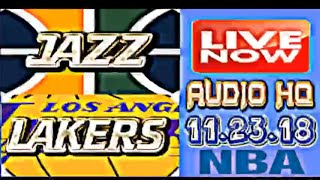 JAZZ vs LAKERS Live Full Game 11.23.18 Score, Picks and Prediction