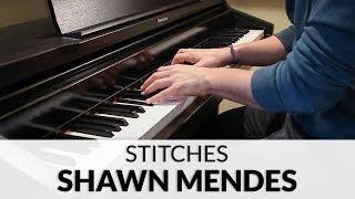 download lagu Shawn Mendes - Stitches  Piano Cover gratis